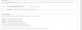 Passwordstate API Settings