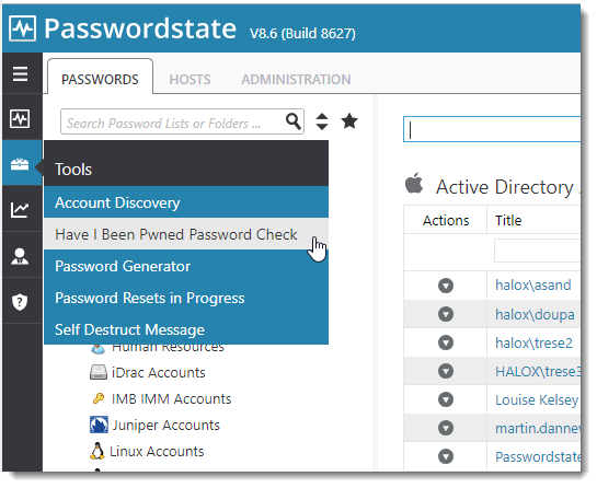 Passwordstate integration with Have I Been Pwned